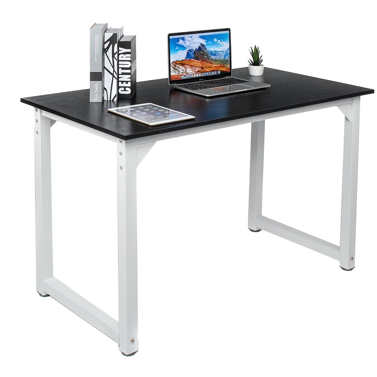 Modern Simple Design Wood Computer Desk PC Laptop Table ...