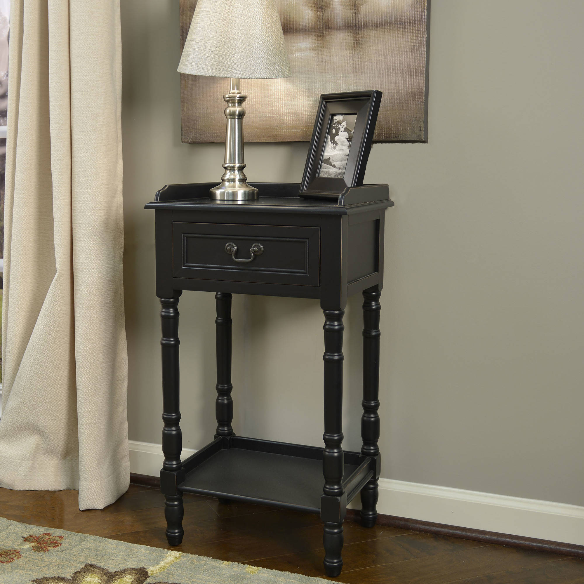Better Homes and Gardens Traditional 1-Drawer Accent Table, Multiple Colors by JIMCO LAMP CO.