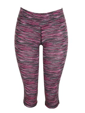 e483603baba95 Product Image Material Girl Juniors Pink Multi Space-Dyed Cropped Active  Leggings S