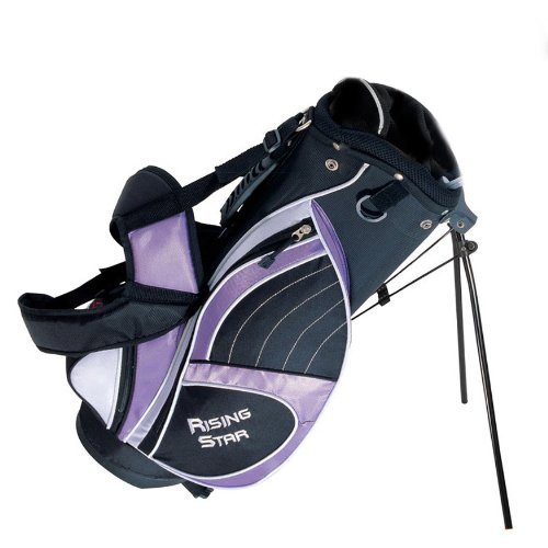 "Paragon Rising Star Junior Golf Stand Bag 28"" Lavender"