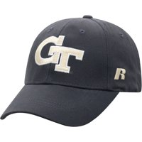 Men's Russell Athletic Charcoal Georgia Tech Yellow Jackets Endless Adjustable Hat - OSFA