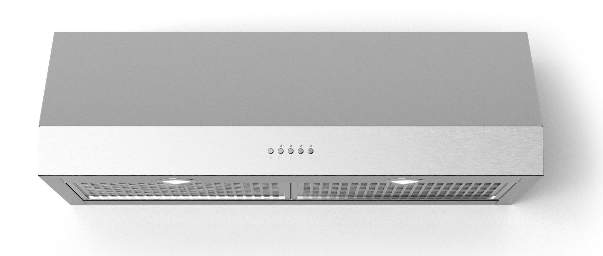 Forte Lucca40 40 Lucca Under Cabinet Range Hood With 560 Cfm Led Lighting In Stainless Steel Walmart Com Walmart Com