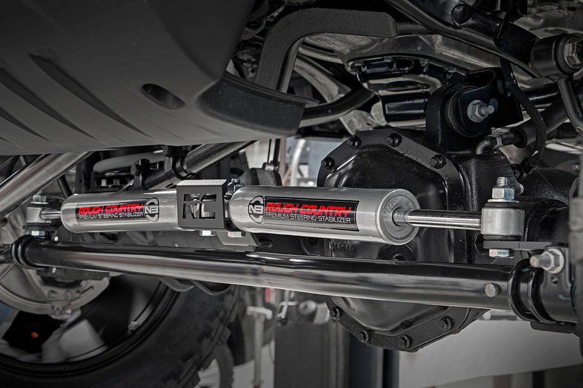 8730530 Rough Country N3 Steering Stabilizer 2018-2020 Jeep Wrangler JL//Gladiator JT fits Premium Damper
