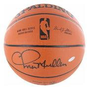 Steiner Sports Chris Mullin Signed I/O Basketball