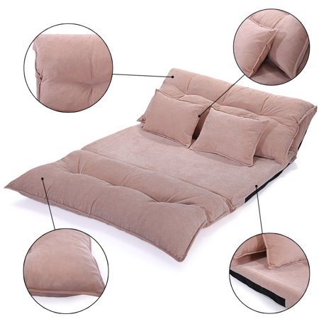 Incredible Shoptagr Jaxpety Beige Folding Lounge Chaise Video Gaming Uwap Interior Chair Design Uwaporg