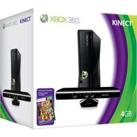 Refurbished Xbox 360 S 4GB Game Console Kinect With Kinect Adventures