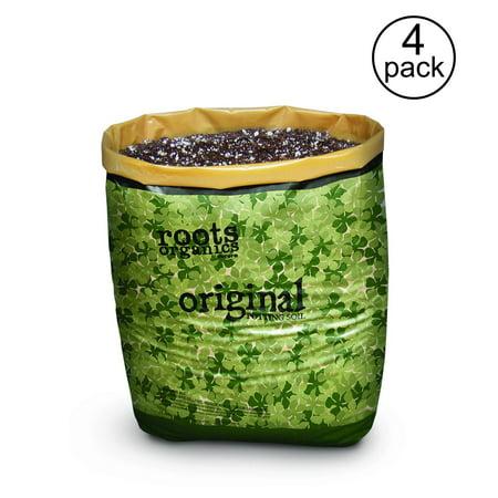- Roots Organics Hydroponic Coco Fiber Based Potting Soil, 0.75 cu ft (4 Pack)