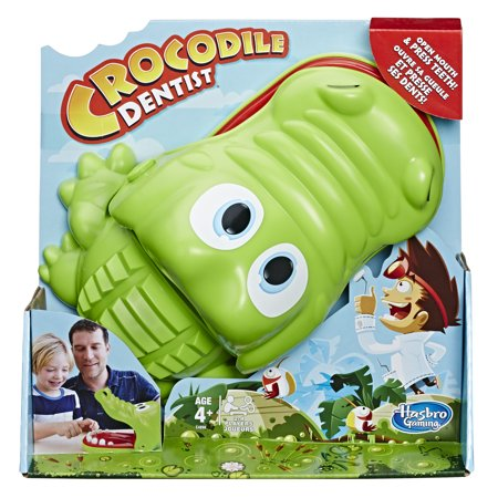 Hasbro Crocodile Dentist Game (ages 4+)