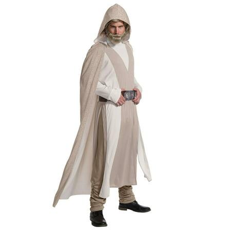 Men's Deluxe Luke Skywalker Costume - Star Wars VIII](Deluxe Luke Skywalker Costume)