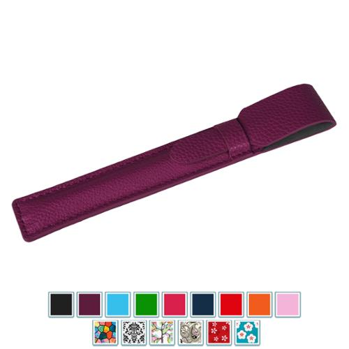 Apple Pencil Case Holder - Fintie PU Leather Drop Protection Sleeve Pouch Cover for iPad Pro Apple Pencil, Purple