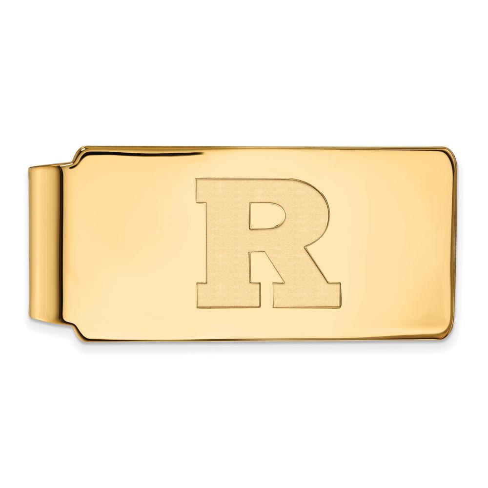 Rutgers Money Clip (10k Yellow Gold)