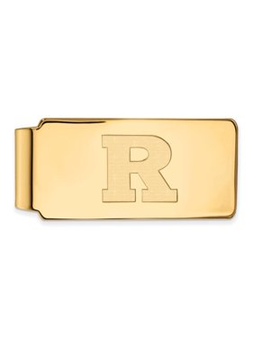 Rutgers Money Clip (10k Yellow Gold)