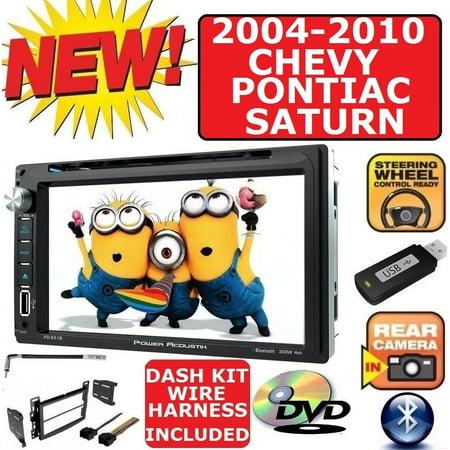 04-10 CHEVY PONTIAC SATURN TOUCHSCREEN BLUETOOTH USB CD/DVD/AUX/MP3 STEREO PKG (2018 Chevy Touch Screen)