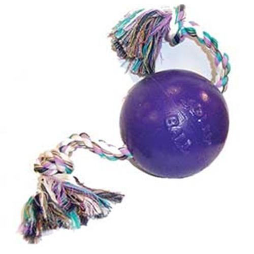 Horsemen S Pride Romp And Roll Ball Purple 4. 5 Inch - 645 PUR