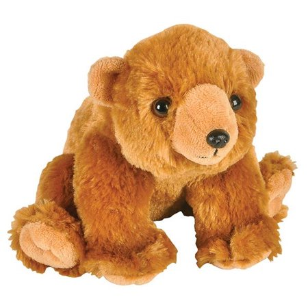 Adventure Planet Plush Animal Den - GRIZZLY BEAR (8 inch)](Grizzly Bear Mascot)