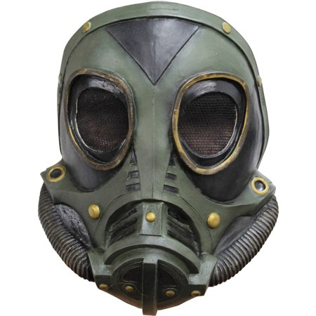 M3A1 Gas Latex Mask Adult Halloween Accessory - Halloween Latex Applications