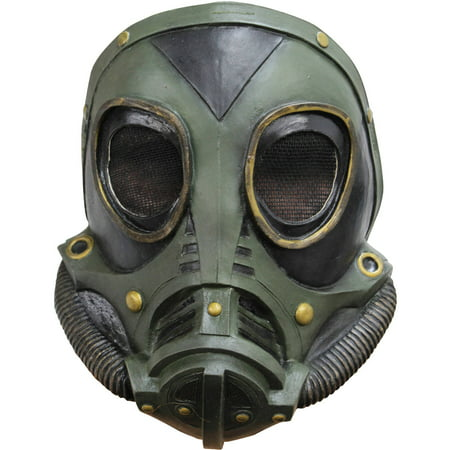 M3A1 Gas Latex Mask Adult Halloween Accessory