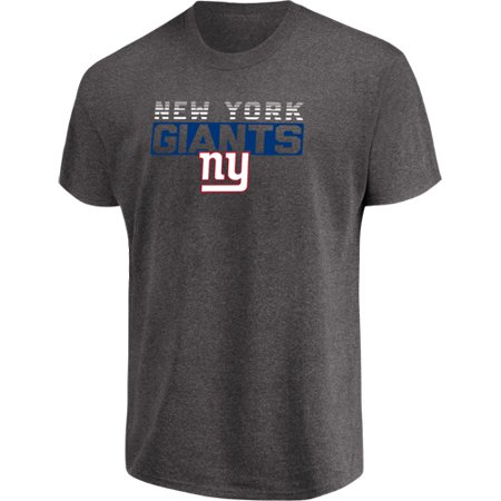 Men's Majestic Heathered Charcoal New York Giants Come Into Play -