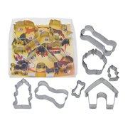 Dog Bone 7 piece set - R&M Tinplated Steel Cookie Cutter - 1947