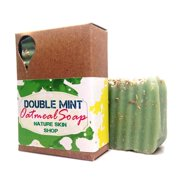 Nature Skin Shop Double Mint Oatmeal Natural Soap