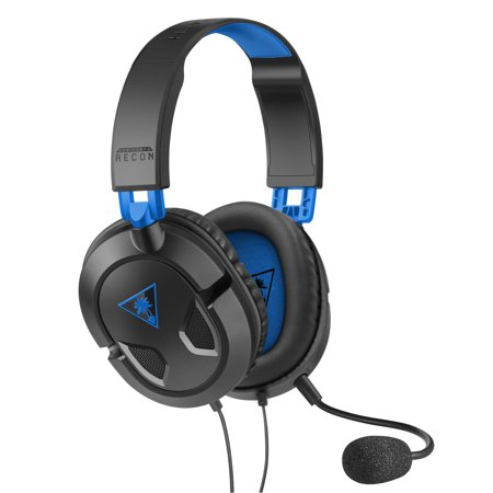 Turtle Beach Recon 50P Gaming Headset for PS4, Xbox One, PC, Mobile (Turtle Beach Mic)