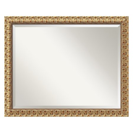 Florentine Gold Wall Mirror - 31.5W x 25.5H in.