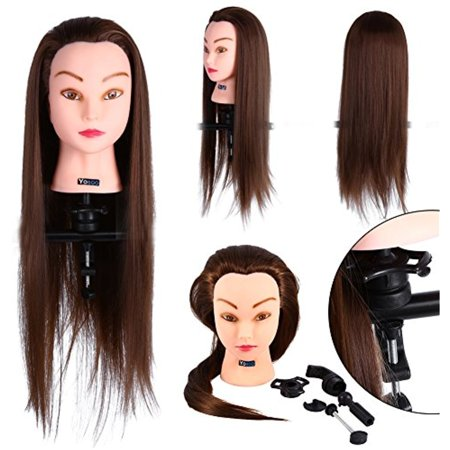 Hair Training Model with Clamp, 26