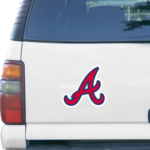 "Atlanta Braves WinCraft 6"" x 9"" Car Magnet - No Size"