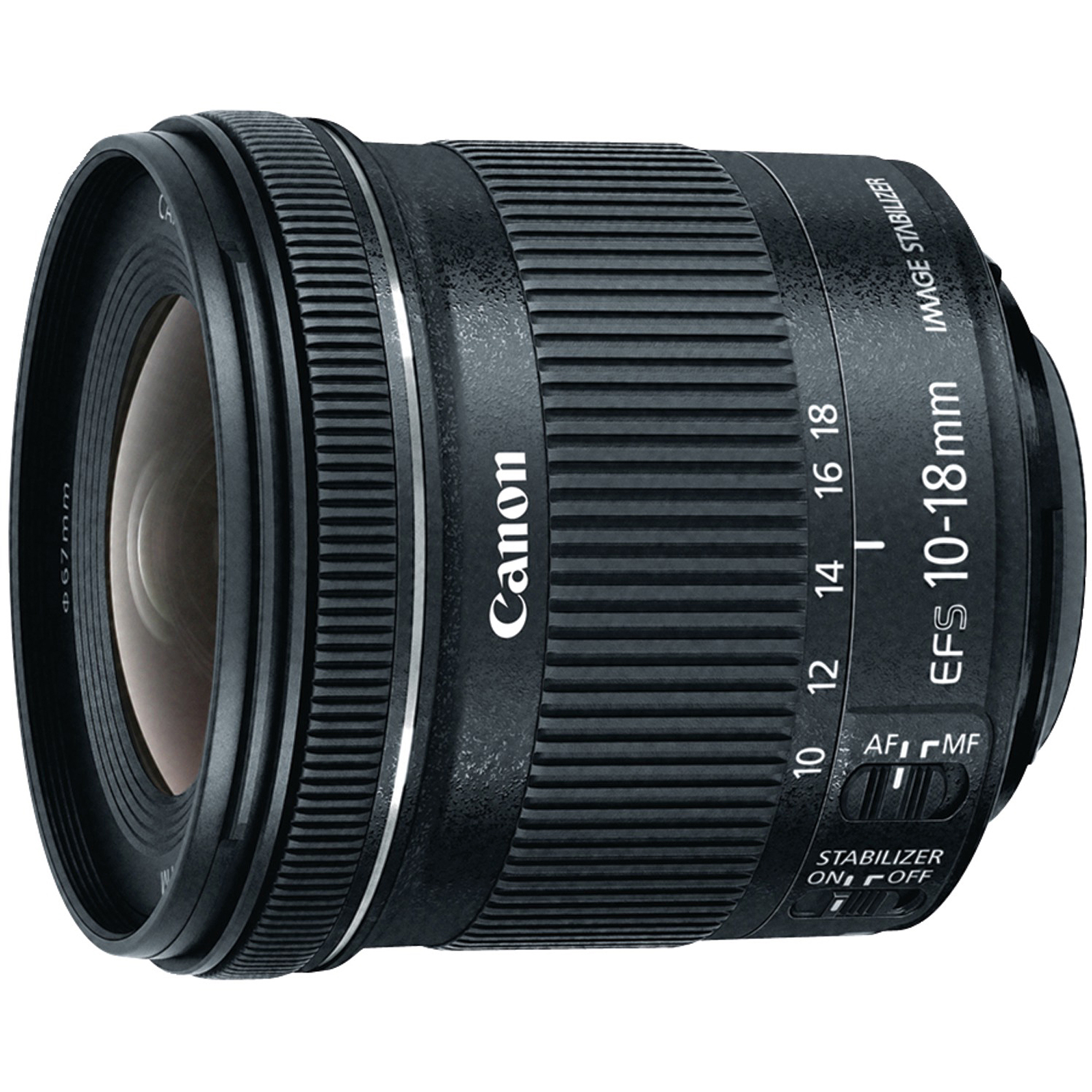 Canon 9519B002 EF-S 10mm-18mm F4.5-5.6 IS STM Lens