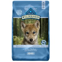 Blue Buffalo Wilderness Grain-Free Chicken Recipe Puppy Dry Dog Food