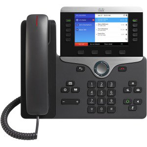 Cisco Ip Phone 8851 Multiplatform W/ Pwr Cube4 Na Cord Cisco Corded Telephone