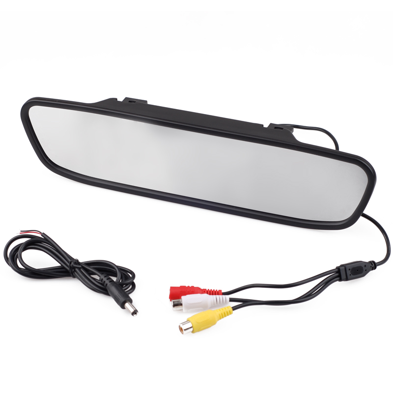 "4.3"" TFT LCD Color Monitor Car Reverse Rear View Mirror"