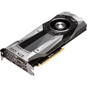 GIGABYTE NVIDIA GeForce GTX 1080 Founders Edition 8GB GDDR5X PCI Express 3.0 Graphics Card by GIGABYTE