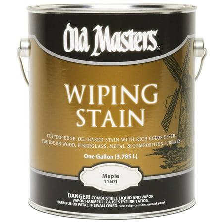 11601 1 Gallon Maple VOC Wipe Stain
