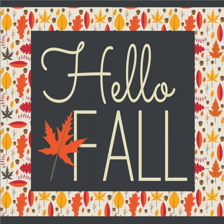 Hello Fall II Poster Print by ND Art and Design ()