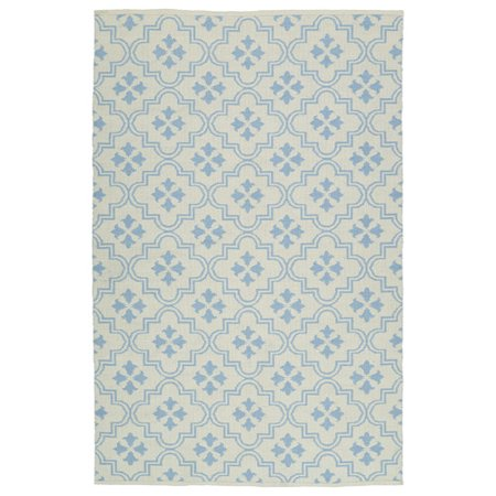 Kaleen Brisa Cream/Light Blue Indoor/Outdoor Area Rug