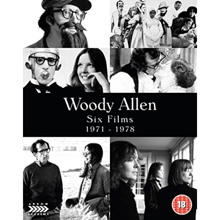 Woody Allen: Six Films - 1971-1978 - 6-Disc Box Set ( Bananas / Everything You Always Wanted to Know About Sex / Sleeper / Love and Death / A [ NON-USA FORMAT, Blu-Ray, Reg.B Import - United Kingdom