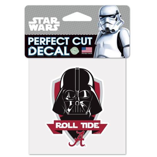 NCAA Star Wars Darth Vader Die Cut Car Decal Wincraft