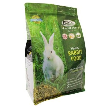 Exotic Pasture Plus Young Rabbit Food, 5 lb. by Exotic Nutrition