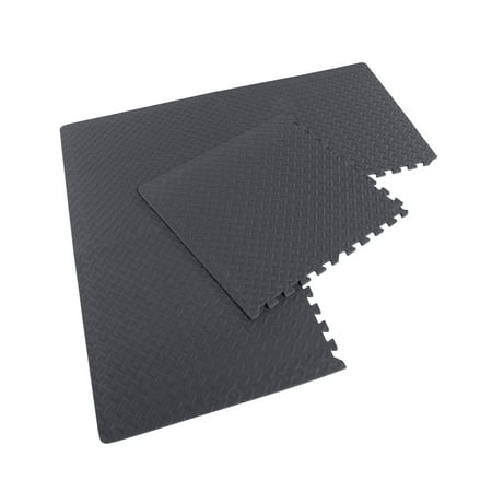 Cap Barbell High Density Eva Puzzle Floor Mat 4 Pieces