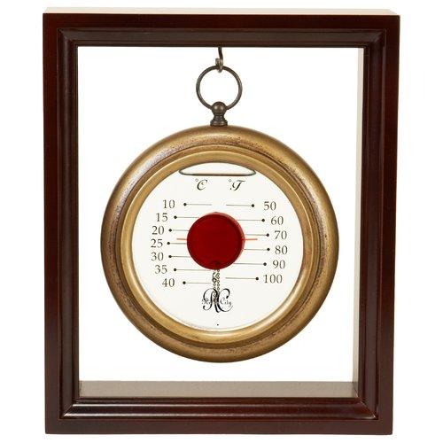 River City Clocks Hanging Galileo Inside Thermometer