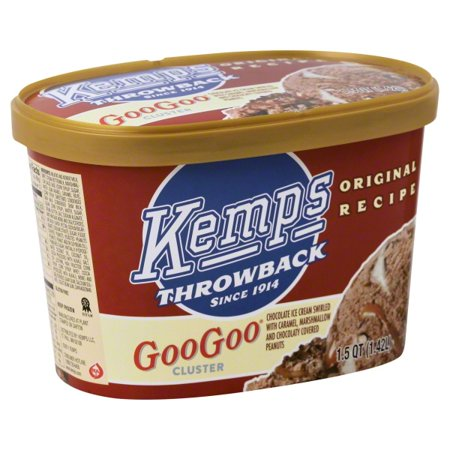 Kemps Throwback Ice Cream 15 Qt