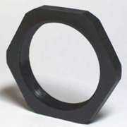 ENERGY CHAIN I-BMN-16 Connector Lock Nut,0.83in,Blk,Polyamides