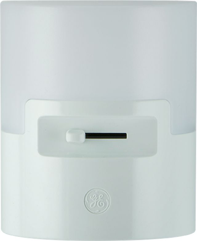 GE UltraBrite Dimmable LED Night Light, Up to 100 Lumens, White, 26611 by Jasco Products Company