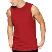 745e383d Men's Sleeveless Tee Shirts Muscle Gym Tank Top