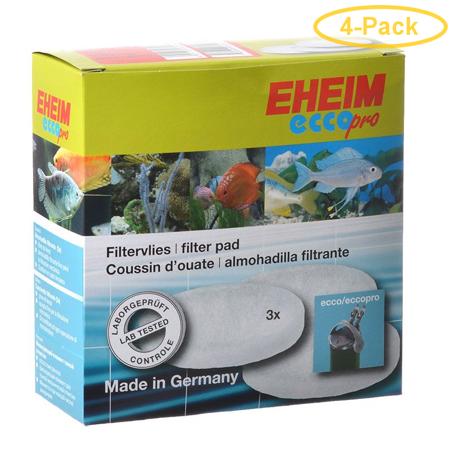 Eheim Ecco Pro Fine Foam Filter Pad 3 Pack - Pack of 4