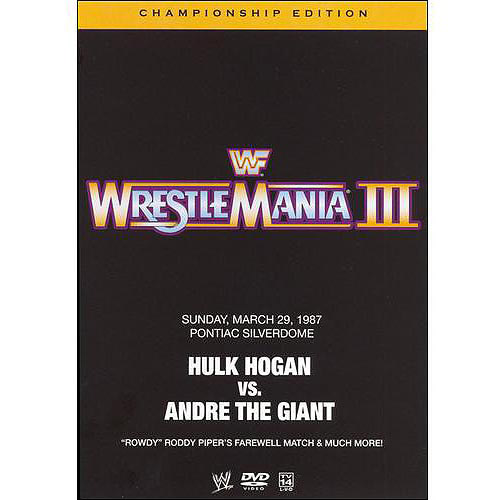 WWE: WrestleMania III (Championship Edition) by GENIUS PRODUCTS INC