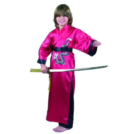 Boys Samurai Costume (SAMURAI DRAGON MASTER-CHILD - Size /)
