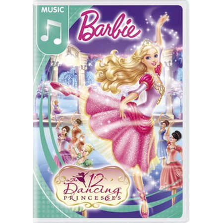Barbie in The 12 Dancing Princesses (DVD) (Barbie And The Diamond Castle Part 1)