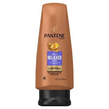 (2 Pack) Pantene Pro-V Truly Relaxed Hair Moisturizing Conditioner, 12 fl oz